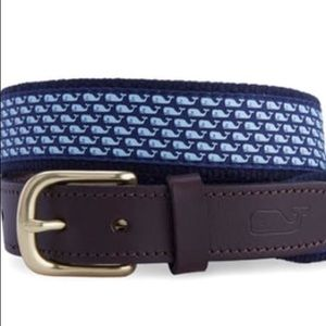 Boys Vineyard Vines Blue Whale Belt